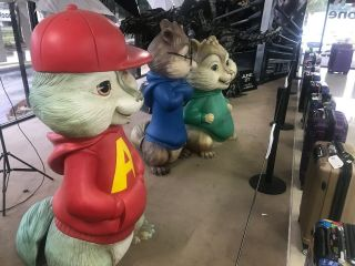 Alvin And The Chipmunks Human Size Prop