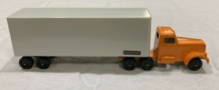 Ralstoy Fruehauf Truck With Rare No.  10 Cab And Early Style No.  14 Trailer