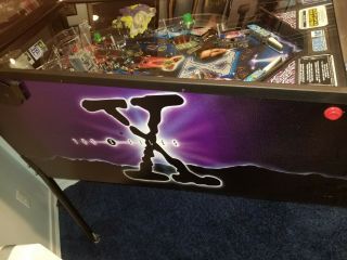 X Files Pinball Machine