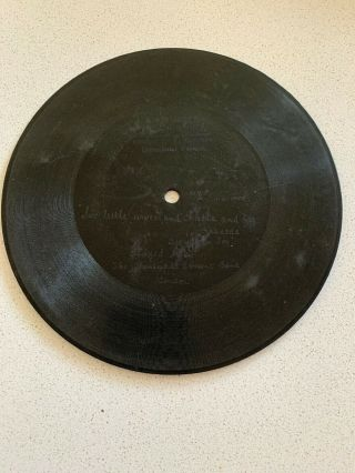 "7"" Berliner Gramophone Phonograph Record - Six Little Wives And Rhoda And."