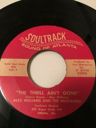 Vinyl: Funk 45 - Alex Williams & The Mustangs M