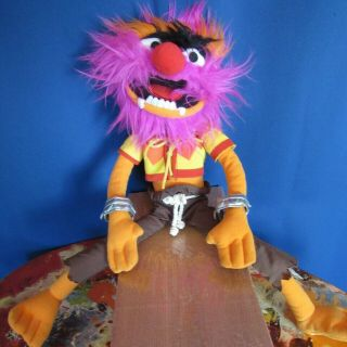 "Disney Store Exclusive The Most Wanted Animal 17 "" Plush Toy Disney Muppet"