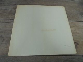 The Beatles - The White Album 1968 Uk Double Lp Apple Mono 1st Complete
