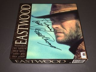 Clint Eastwood Signature & Inscription On Archive Dvd Box,  Modderno