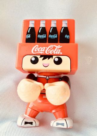 Extremely Rare Vintage Trexi Coca Cola Coke Bootle Tray We All Vinyl Figure