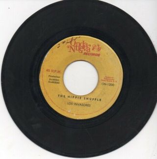 Panama Funk 45 Los Invasores - The Hippie Shuffle On Onda Nueva Hear