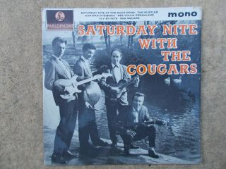 Saturday Night With The Cougars - Parlophone Gep 8886 (rare 60