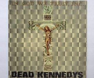 Dead Kennedys Rare French First Press Vinyl In God We Trust 7,  Virus 3