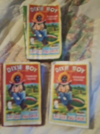 "3 Dixie Boy Firecracker Pack Flashlight Crackers 1 1/2 "" 16s Label"