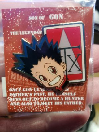 1999 Hunter X Hunter Gon Pin Old Stock Very Rare And Only A Few Left