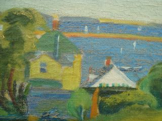 American Provincetown Modernist Frank Carson Signed Oil - Prices to $5,  000 5