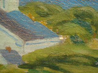 American Provincetown Modernist Frank Carson Signed Oil - Prices to $5,  000 6