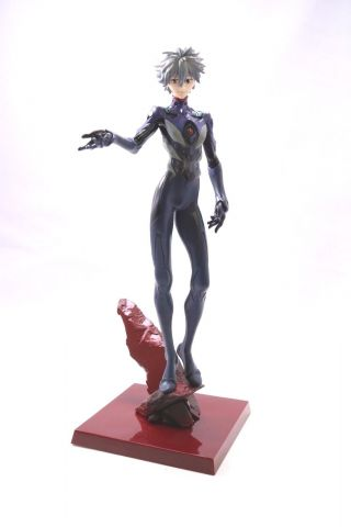 "Evangelion Kaworu Nagisa Premium Figure Authentic 10.  5 "" Sega Japan"