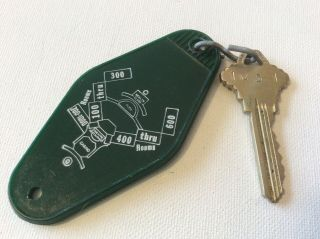 Rare Tropicana Hotel Country Club Las Vegas,  Nevada Room 1031 Key Fob W/key
