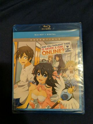 And You Thought There Is Never A Girl Online? The Complete Series Blu - Ray/dvd