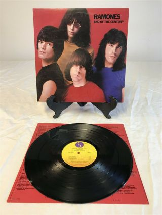 Ramones Road To Ruin 1980 Lp Vinyl Album Sire Records Nm