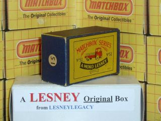 Matchbox Moko Lesney Albion Chieftain Cement Lorry 51 Type B3 Empty Box