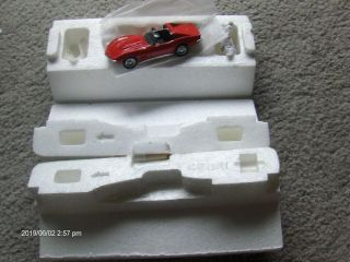 Franklin 1:43 Scale 1968 Chevrolet Red Corvette