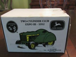 "Ertl Two Cylider Club Expo Iii John Deere "" 620 "" Orchard Tractor - Mib"
