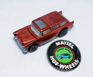 Hot Wheels 1970 Vintage Redline Classic Nomad Red Usa W/ Button Vhtf Loose