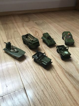 Matchbox Superfast And Rolamatics Military Vehicles