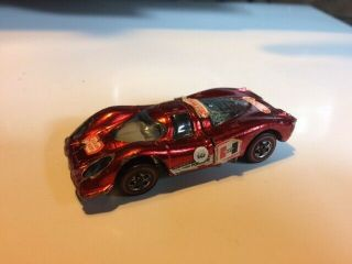 Hot Wheels Redline Porsche 917 Metallic Red 1970