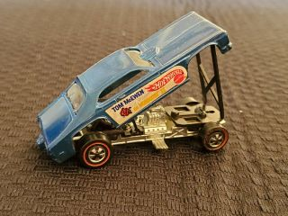 Hot Wheels Redline Mongoose Ii Blue Hk