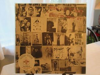 Ss The Rolling Stones Exile On Main St 180 Gram Rti Limited Ed Out Of Print