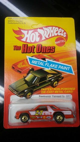 Hot Wheels Hot Ones 1982 Front Runnin