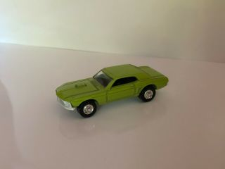 Vintage Playart Ford Mustang Lime Green