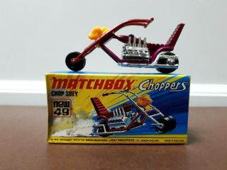 Matchbox Lesney - Series 49 - Chop Suey