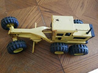 Vintage Tonka Metal Road Grader Antique Toy