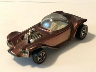 1968 Hot Wheels Redline Beatnik Bandit Ice Brown