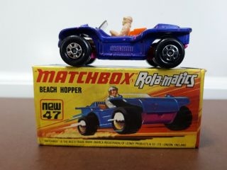 Matchbox Rolamatics Lesney - No.  47 - Beach Hopper