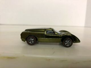1968 Hot Wheels Redline Ford J Car Olive