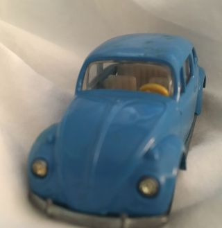 Rare 1963 Vw Beetle Bug V230 - V231 - Volkswagen Diecast - Made In Germany - Siku