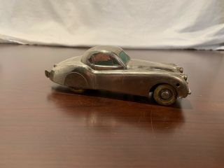 Prameta Kolner Automodelle Jaguar Xk 120 Chrome Plated Toy Car (no Key)