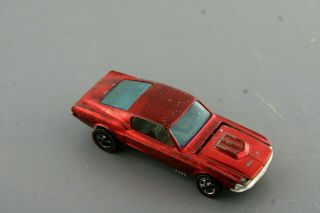 Red Custom Mustang Hong Kong Hot Wheels Redline: