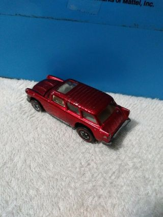 Vintage Hot Wheels Redline Classic Nomad In Red.
