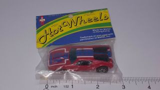 Vintage 1969 Hot Wheels Redline War Path Plastic Bottom Red