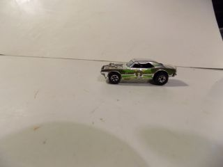 Hot Wheels Blackwall Chrome Heavy Chevy With Olive Tampo