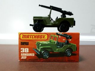 Matchbox Superfast Lesney - Series 38 - Armoured Jeep