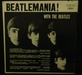 The Beatles - Beatlemania - With The Beatles Rare Mono 1963