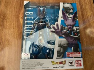 S.  H.  Figuarts Beerus Dragon Ball Z In Hand Complete
