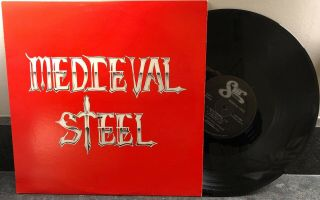 Medieval Steel: (self Titled) Lp Vinyl Record Rare Private Press Memphis Heavy M