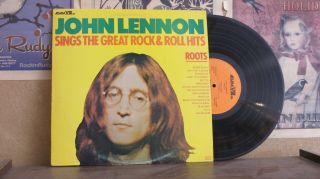 John Lennon,  Roots Sings The Great Rock & Roll Hits - Lp A8018 Beatles