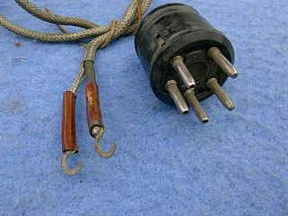 1938 - 1941 Seeburg Symphonola Tone Arm Input Cable Assembly - Old Stock