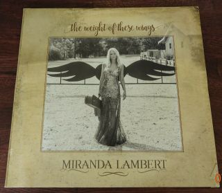Miranda Lambert - The Weight Of These Wings [3lp] (gatefold) 2016,  Vinyl Records