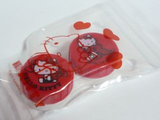Sanrio Hello Kitty Contact Lens Case (size About 6.  5 X 3.  5 X 1.  5 Cm) F/s