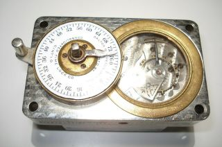 Consolidated Time Lock Co Bank Vault Timer